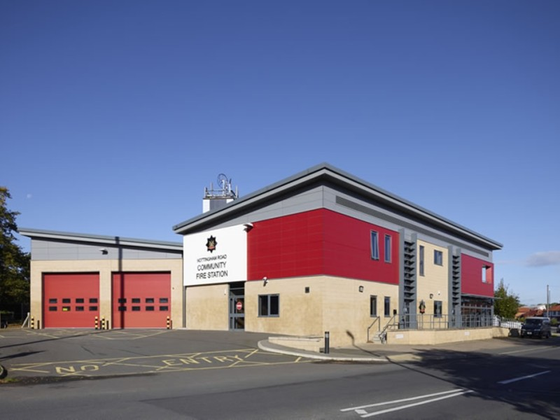 Ascot Drive Community Fire Station Derby Frank Shaw